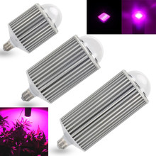 60W 120W 180W Full Spectrum COB E27 LED Grow Lights For Indoor Plants Hydroponics System Vegs Grow/Bloom Flowering High Yield
