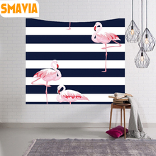 SMAVIA Modern Elagant Wall Hanging Tapestry Flamingo Mandala Tapestry Camping Decor Bedspread Beach Towel Table Cloth Yoga Mat