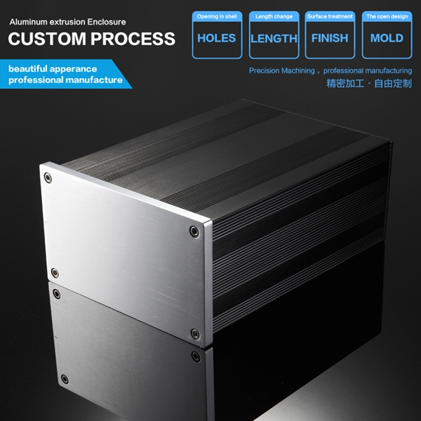 145*82-200mm(WxH-D) aluminum electrical case housing project box case<br>