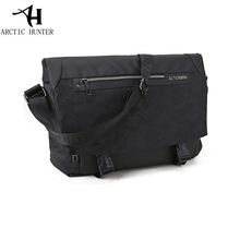 Fashion Mens Messenger Bags Cross Body Shoulder Chest Bags 14.1inch Laptop Messenger Bag Camouflage Casual Vintage bag for man(China)