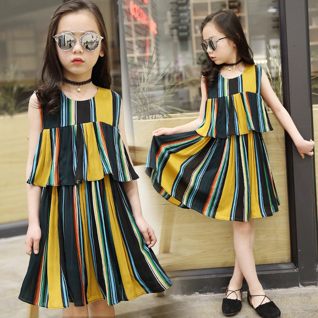2017-New-Summer-Girl-Color-Dress-Thin-Section-breathable-Fashion-Personality-Children-Princess-Dress-children-s.jpg_640x640