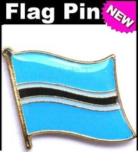Lapel Pins Botswana Flag Pins All Over The World Badge Emblem Country State Pins