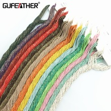 GUFEATHER diy accessories 500cm chain beads Supplies for jewelry making findings & components jewelry materials(+-10cm error)