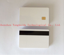 1000PCS/Lot EMV Standard Sle4442&Hi-co Magntic blank smart card