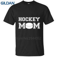 Cool Hockeyer Mom Proud Mothers in Kids Sportser Games cool blue tshirt men's create uniform cotton simple Short Sleeve