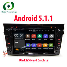 HD 1024*600 2 DIN Quad Core Android 5.1.1 Car DVD Player GPS Radio For Opel Astra H Vectra Corsa Zafira B C G car stereo 3G WIFI
