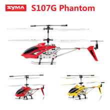 Original Syma S107G S107 3.5CH RC flying toy gyro Radio Control Metal alloy fuselage R/C Helicoptero Mini Co-Axial copter toy
