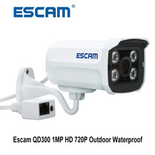 Escam  QD300 Mini IP Camera IR Camera support motion detection ONVIF Night Vision Outdoor Bullet Waterproof Security CCTV Camera