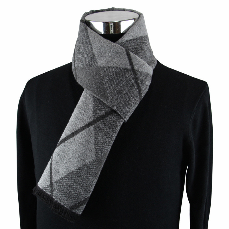 Newest fashion design casual scarves winter Men's cashmere Scarf luxury Brand High Quality Warm Neckercheif Modal Scarves men 1