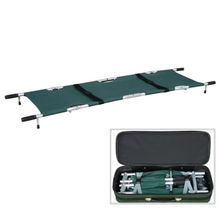 Heavy Duty 4 Folds Hospital Medical Stretcher with Waterproof Materials