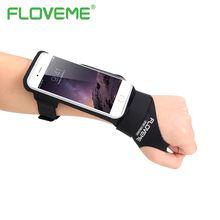 Buy FLOVEME Armband iPhone 6 6S 7 Plus 5.5 4.7 inch Universal Waterproof Sport Armband Case Card Holder iPhone 7 6 6S Plus for $7.19 in AliExpress store