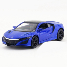 RMZ 1:36 Die cast Sports Car Toy, Mini Simulation NSX Racing Cars Model For Collection, Toys For Children, Brinquedos Boys Gift