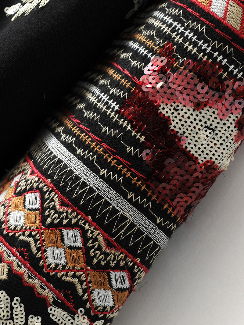 ShejoinSheenjoy Hooded Long Sleeve Loose Hoodies Women Fashion Black Vintage Floral Geometric Embroidery Sweatshirt Pullovers (18)
