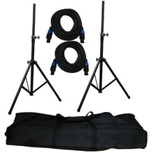 KL KS01812 Heavy-Duty Pro Audio Speaker Stand & Speakon(R) Cable Kit