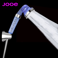 JOOE Water Saving SPA Shower Heads handheld Round adjustable 3 functions showerhead Bathroom accessories ducha chuveiro je011