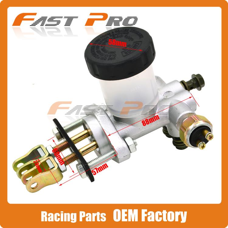 Hydraulic Brake Master Cylinder Pump For 125cc 150cc to 250cc 300cc Go Kart Buggy Racing Motorcycle<br>