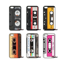 For Samsung Galaxy Note 2 3 4 5 S2 S3 S4 S5 MINI S6 S7 edge Active S8 Plus Retro Vintage Tape Cassette Classic phone Case(China)