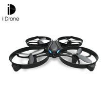 Mini RC Drone Dron 2.4GHz 4CH 6-axis Gyro Headless Mode Radio Control Drones One Key Return Flying Helicopter RTF Beginner Level(China)