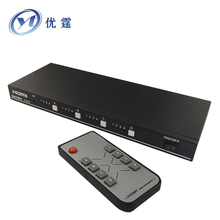 YOUTING Hdmi 1.3v Matrix 4X4 Support  3D HD 1080p  Switch Splitter 4 port hdmi input 4 port hdmi output hdmi matrix 4x4