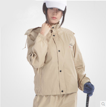 Golf Style burberry_ men Women Rain Coat Pants Outdoor Jacket Waterproof Burbe rry Women Girls Clothes Breathabe Motorcycle(China)