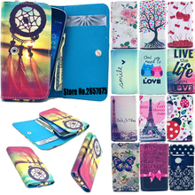 2016 Hot Dirt-resistant Painting Leather Phone Cases For MTC Smart Sprint 4G Wallet Style With Card Slot Cover Case