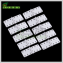 10pcs/lot 6star brand Plastic Pinned Hinges W12xL24mm W16X29mm W20X36mm W27X36mm For RC Airplane Model Free Shipping