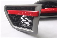 Chrome side vent grille mesh grill for Land Rover Range Rover Sport 2010 2011 2012 high quality