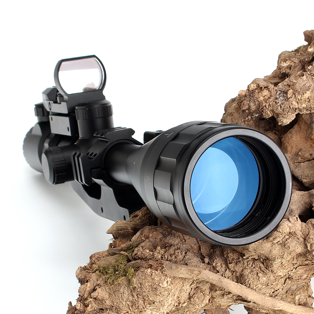 ohhunt 6-24x50 AOEG Hunting Rangefinder Reticle Rifle Scope with Holographic 4 Reticle Sight Red Green Laser Combo Riflescope (7)
