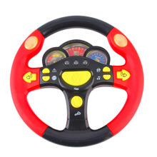 Funny Toys for Children Steering Wheel Toy Baby Childhood Educational toy Driving Simulator steering wheel toy cars accessories(China)