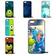 For Huawei Ascend P6 P7 P8 P9 Lite Y5 Y6 II Honor 4C 5C 6 5X G8 Mate 8 7 9 Cute Cartoon Monsters Sulley Tiger Hard Phone Case
