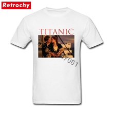 2017 Branded Hip Hop T Shirts Movie Titanic Men's Short Sleeve Great Summer Apparel Shirts Couple Tall Short Sleeve Tshirt(China)