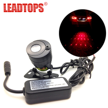 LEADTOPS Car Styling + Anti Collision Rear-end Car Laser Tail +Car Led Fog Light Convertible Patterns + car Warning Light CB