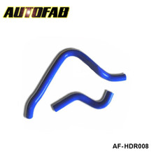 AUTOFAB -turbo intercooler radiator pipping silicone hose Kit 2pcs For Honda Accord 90-93 (2pcs) TK-HDR008