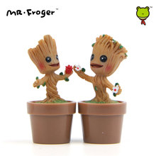 Mr.Froger Tree Baby Mini Miniature Figurines Statue Figure Models Resine Kit Tree Toys Cute Mini Chibi Dolls Small Anime Figure