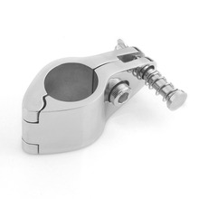"VERY100 1PC JAW SLIDE Hinged 7/8"" Bimini Top Stainless Steel Marine Hardware Fitting(China)"