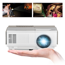 CAIWEI 1080p Home Theater Mini Projector Digital TV Video Kids Portable HD HDMI Projector LED for PC TV Tablet(China)