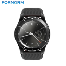 FORNORM G8 smart watch mobile phone 3 mode Bluetooth V4.0 smart wrist sports bracelet mobile phone clock test sensor heart blood(China)