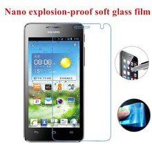 Nano Explosion-proof Soft Glass Clear Screen Protector Protective Film for Huawei U8950 U8950D G600 U9508 T8950 C8950D Honor 2