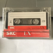 Wholesale 120 Minutes SKCLX Normal Position Type 1 Recording Blank Cassette Tapes.(China)