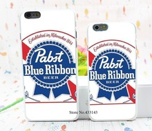 pabst blue ribbon beer Style Hard White Cover Skin Back Case for iPhone 6 6s 6 plus