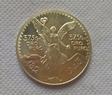 1943 Mexico 50 Pesos (Centenario) 100th Anniversary of Independence from Spain COPY COIN FREE SHIPPING(China)