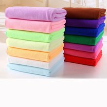 Free Shipping 70x140cm Absorbent Microfiber Bath Beach Towel Drying Washcloth Swimwear Shower