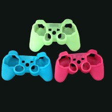 High Quality Luminous Glow in Dark Anti-Slip Silicone Protector Case Cover Skin for PS3 Game Controller