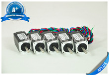 5PCS NEMA 8 Micro Stepper Motor, 3.40oz-in 40mm 0.6A, 1.8degree, 4wires