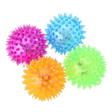 Foot Body Spiky Massage Ball Point Sports Fitness Hand Foot Sound 6.5cm