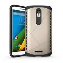 Slim Durable Armor Cover Anti-knock Silicone Shield Defender Case For Motorola Moto X Force / Droid Turbo 2 XT1580 XT1581 XT1585