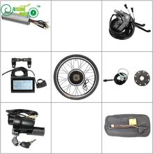 "RisunMotor Electric Bicycle Conversion kits 36V 48V 1000W Ebike Motor Wheel Size 14""-29"" LCD Controller PAS Throttle Brake Lever(China)"