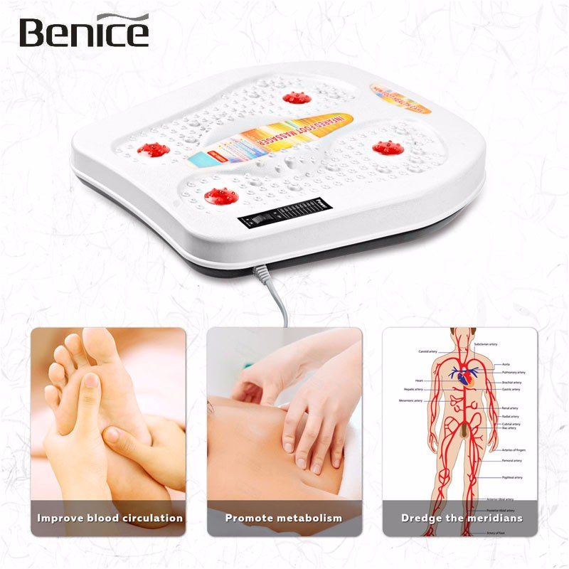 Heating Electric Far Physical Infrared Therapy Vibration magnetic Wave Foot Massage Pedicure Machine Physiotherapy Instrument<br><br>Aliexpress