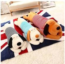 Free shipping Hight quality 1pcs New Arrival Stuffed Dolls Giant Prone Lie Dog Pillow Plush Toys Comfortable Pillow In Stock(China)