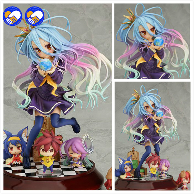 A toy A dream Lovely cartoon movie Action Figure Model Furnishing articles anime No Game No Life 2 hand toy doll kids gift<br>